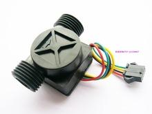 Water heater thermostat flow sensor Flow meter switch with temperature sensor 1 30L min 5 PCS