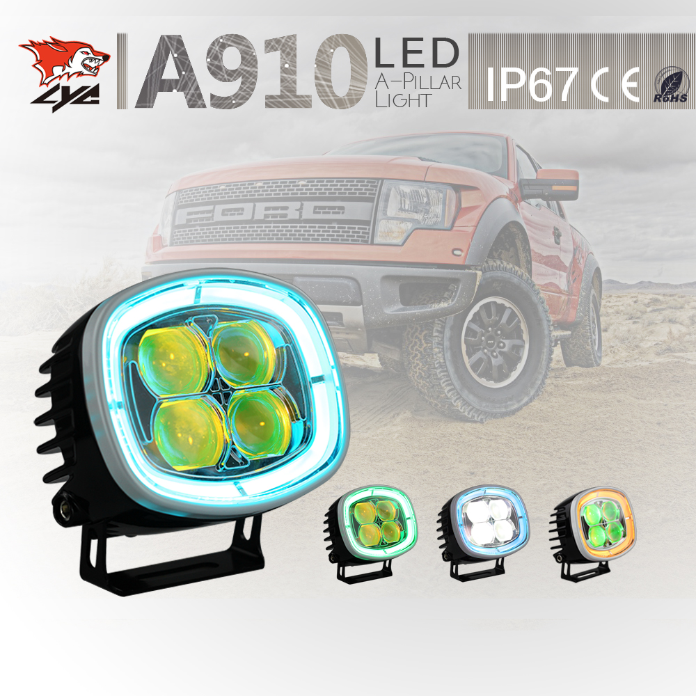 LYC Rack Lights for Jeep Auto Led Lights Canada Led Products Cars How Much Does a Car Headlight Cost One Set Price Here 2500LM(China (Mainland))