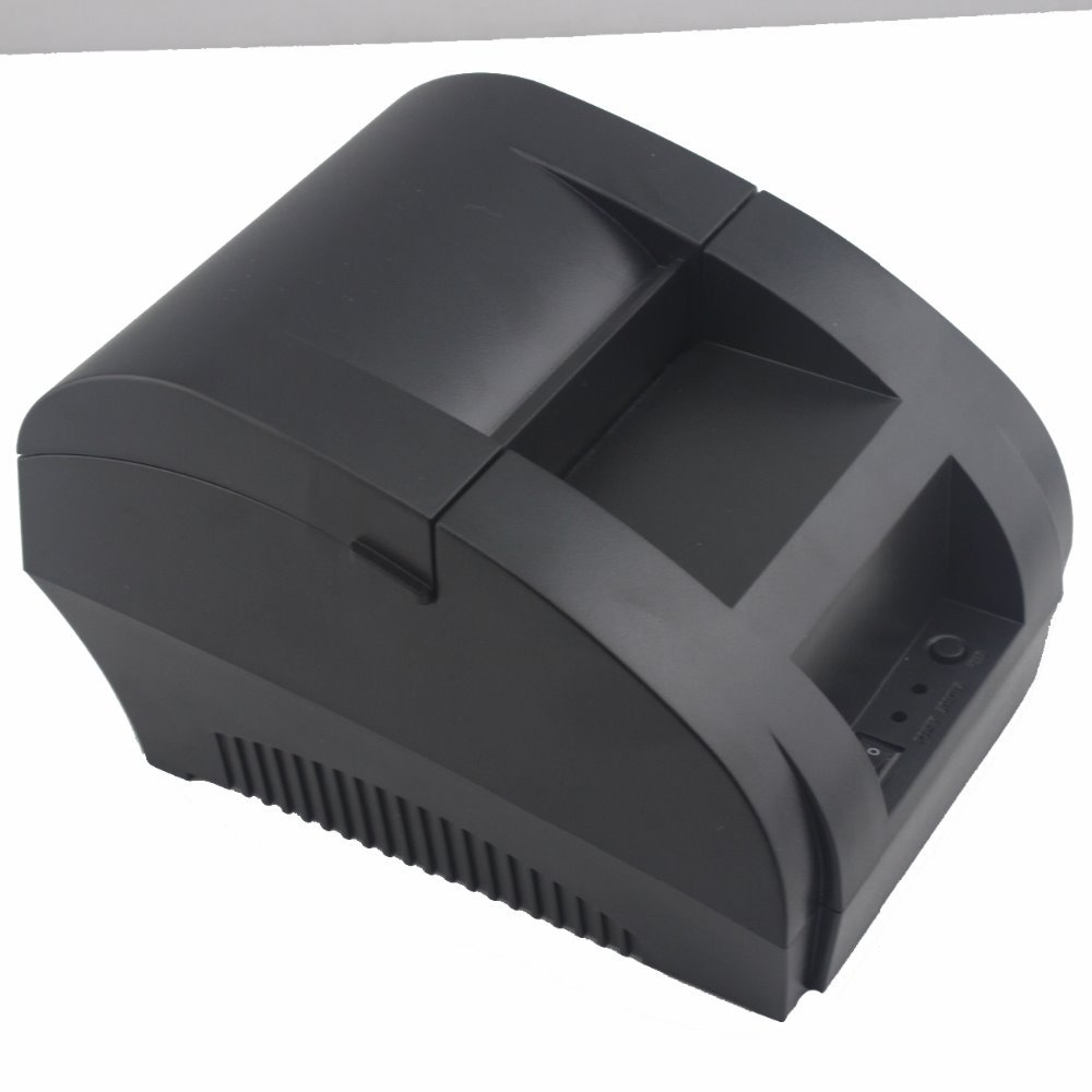 58mm Black Thermal Receipt Printer 58mm Thermal Printer 58mm USB POS Printer for POS System JP-5890k(Hong Kong)