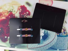 Buy Wholesale Free Shipping 2015 New Hair Clip / band Cards Jewelry Display Cards black paper cards If Custom Logo Will Cost Extra for $16.06 in AliExpress store