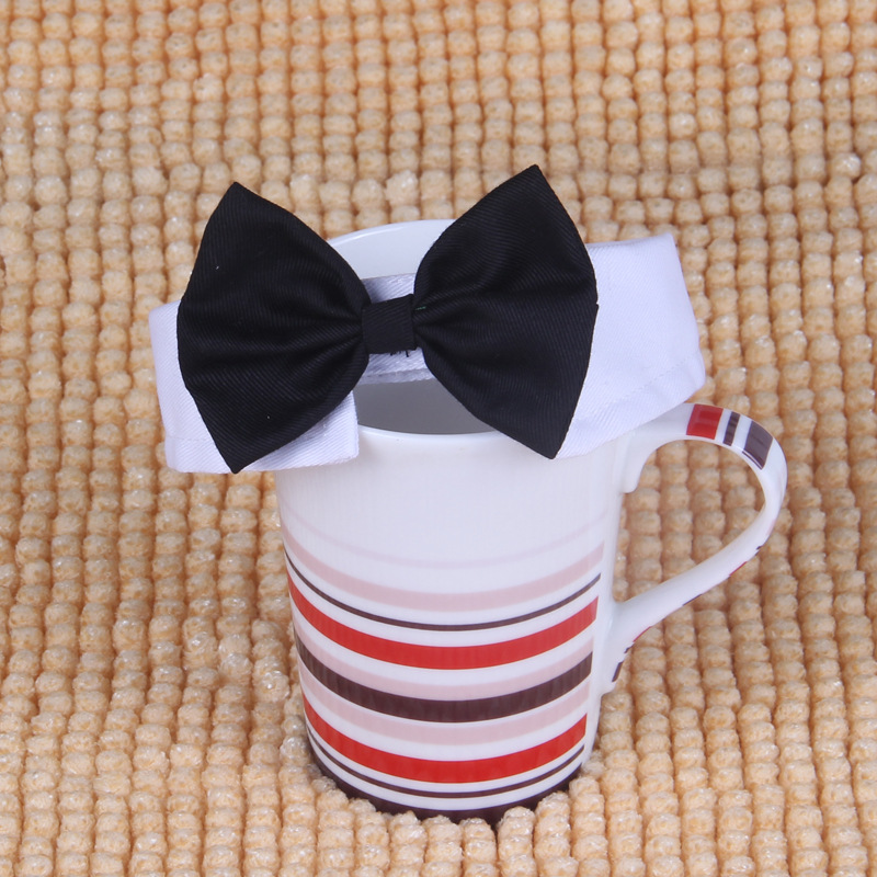 2PCS Hot Sales Pet Supplies Cats Dog Tie Wedding Accessories Dogs Bowtie Collar Holiday Decoration Christmas Grooming(China (Mainland))