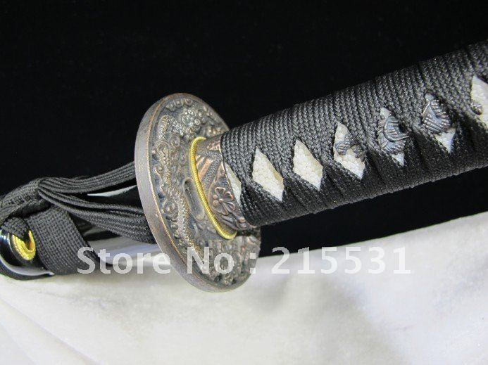 Longquan sword High carbon steel burning blade samurai sword Hard knife Martial arts the sword Sword