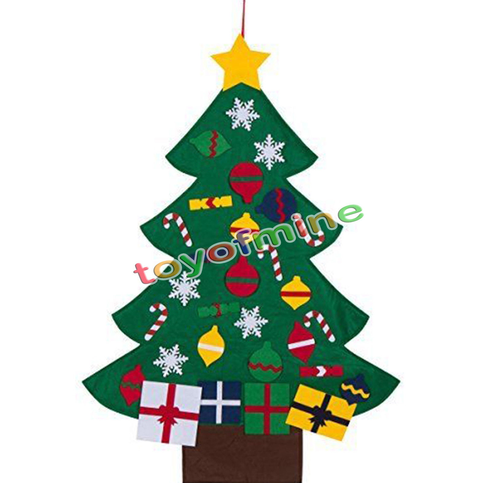 Font B Felt B Font Font B Christmas B Font Tree Children Toddler Kids