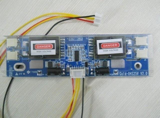 PC LCD MONITOR CCFL 4 LAMP 10V-25V universal lcd inverter