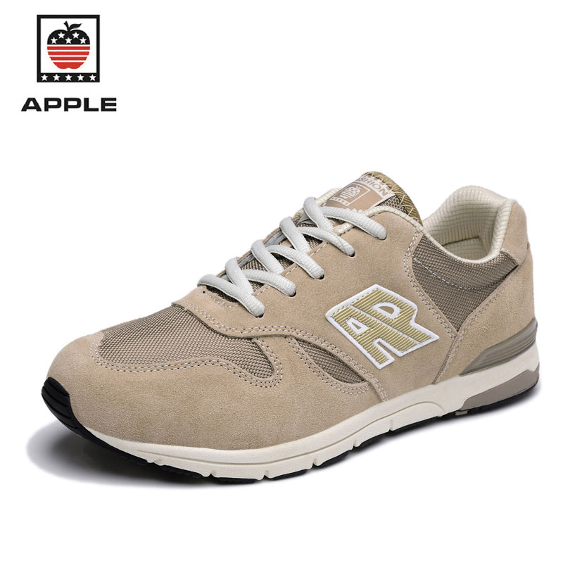 APPLE Men's Running Shoes Breathable Light Outdoor Sport For Men Athletic Trainers Male Shoes Sports Man Sneakers Krasovki(China (Mainland))