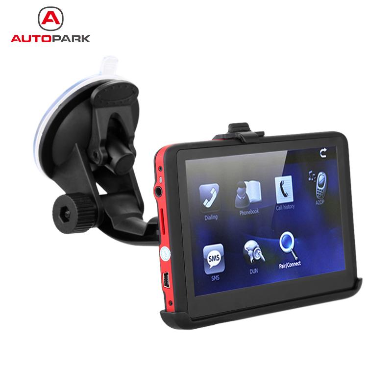 "5"" HD Touch Screen Portable Car GPS Navigation 128MB RAM 4GB FM Video Play Car Navigator +Free Map(China (Mainland))"