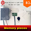 new reality room escape memory IC cards memory pieces adventurer props swiping cards in right sequence