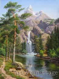 Frameless Pictures Painting By Numbers DIY Digital Oil Painting On Canvas Home Decoration 40x50cm Different stone pines(China (Mainland))