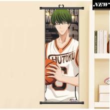 45X125CM Kuroko no Basuke Basketball Midorima.Shintarou Anime Cartoon scroll wall picture mural poster art cloth canvas painting