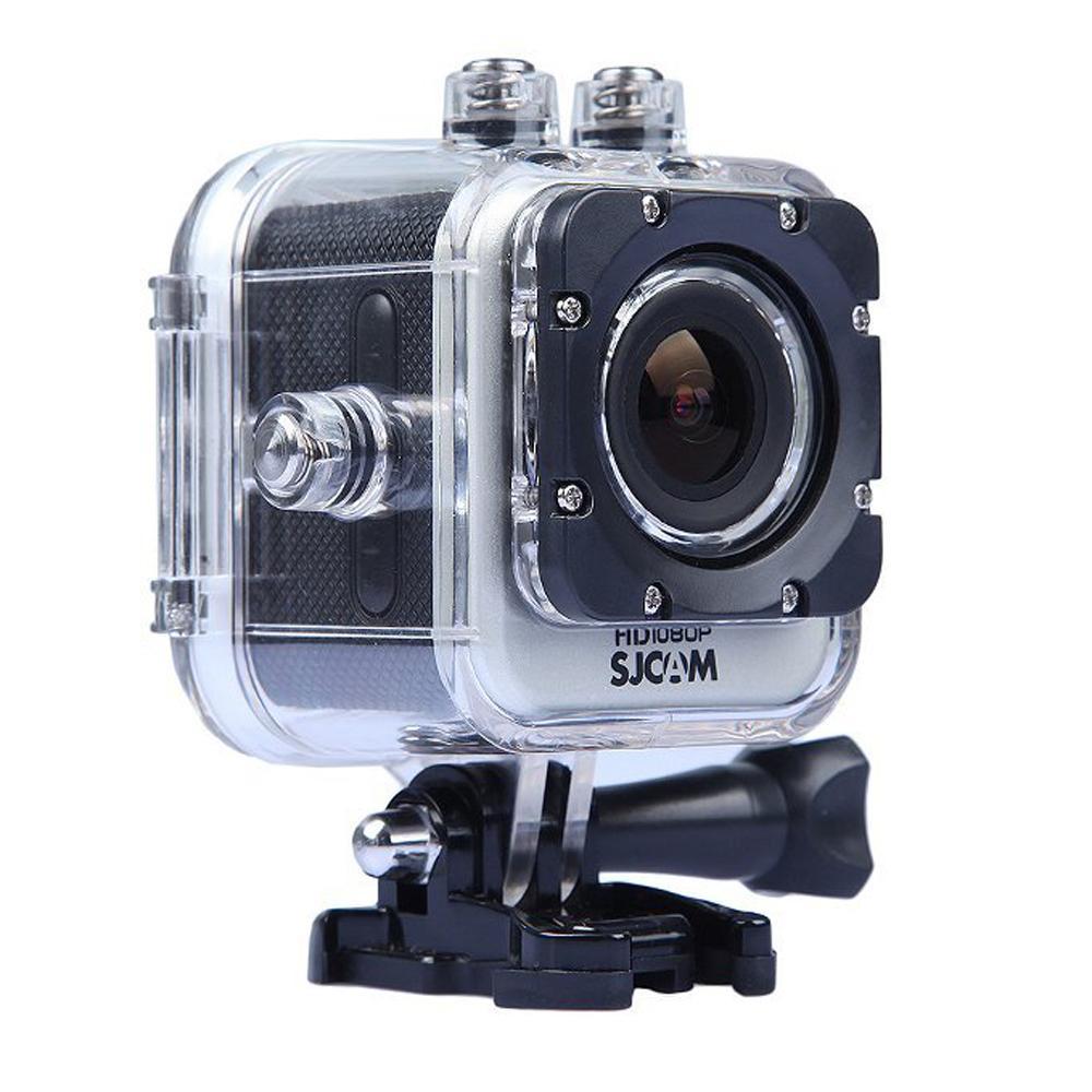 SJCAM M10 12mp 1080p 1.5 Inch LCD Display 170 degree+ Hd Wide-angle Sports Helmet Camera - Silver<br><br>Aliexpress