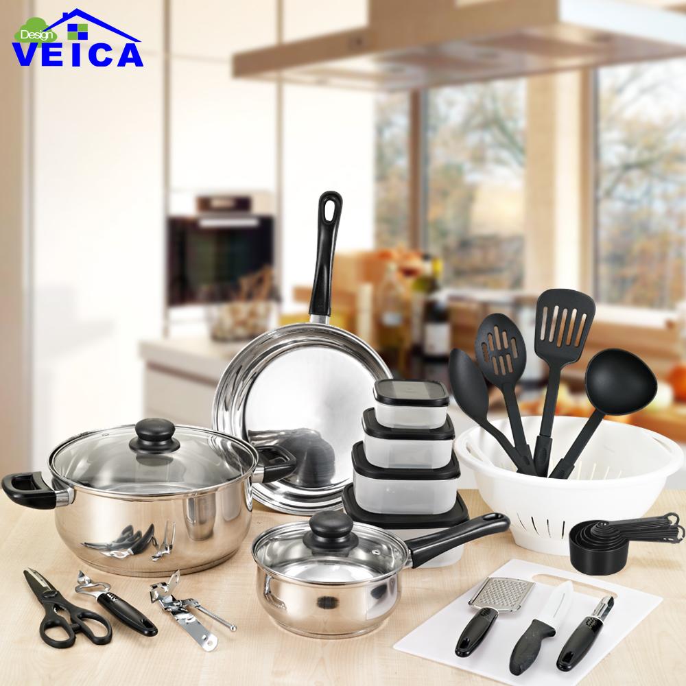 Ollas de cocina de acero compra lotes baratos de ollas for Utensilios de cocina economicos