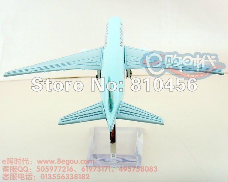Free Shipping!CANADA Airline B777 16CM aviation model rc plane model aircraft model airplane model kit