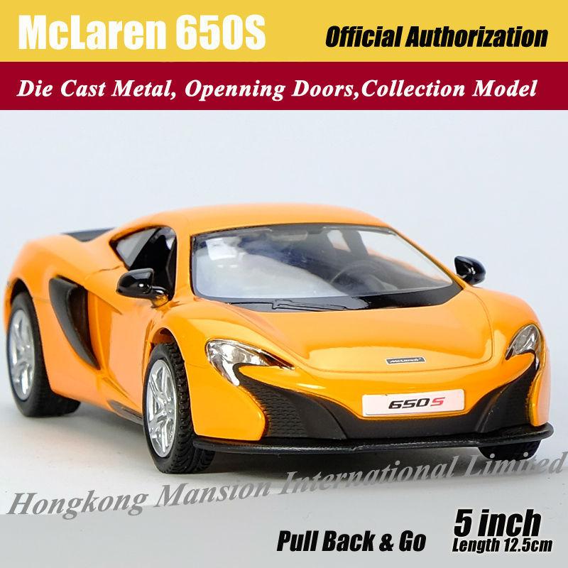136 Car Model For McLaren 650S (1)