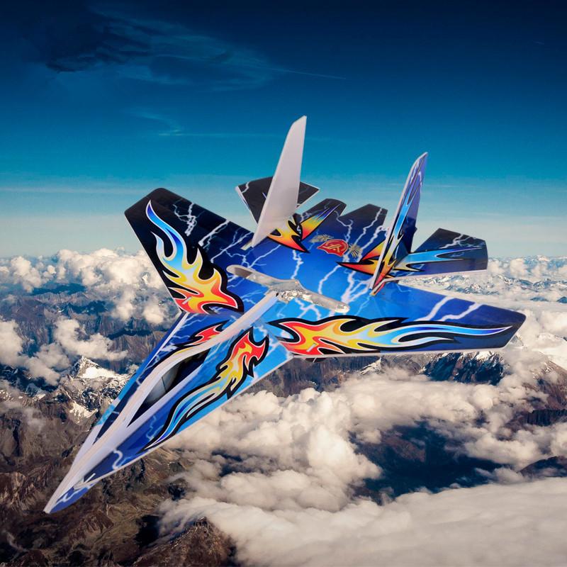 1 Piece rc plane su 27 fighter jet kit remote control airplanes rc glider kt foam airplane kits(China (Mainland))