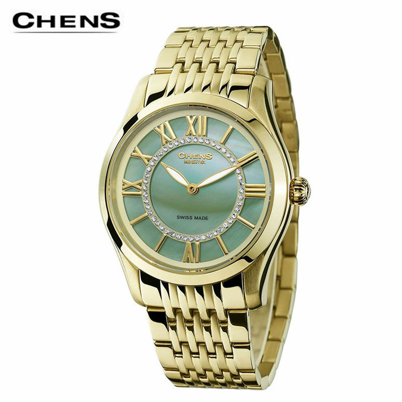 Здесь можно купить  2015 chens Alice in Wonderland female watch elegant multifunctional quartz movement fashion olive green dial stainless strap 30m 2015 chens Alice in Wonderland female watch elegant multifunctional quartz movement fashion olive green dial stainless strap 30m Часы