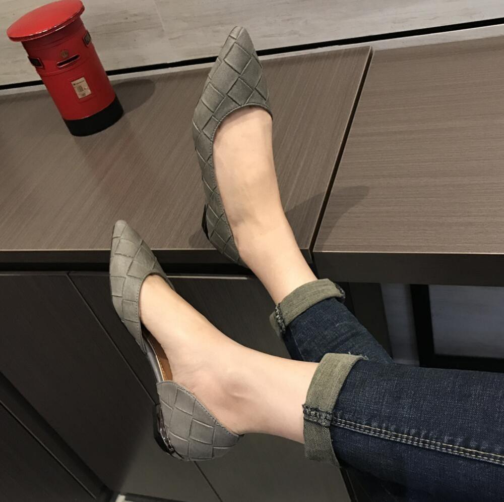 fashion  Women's shoes comfortable flat shoes New arrival flats  -2017-2-  Flats shoes large size Women shoes