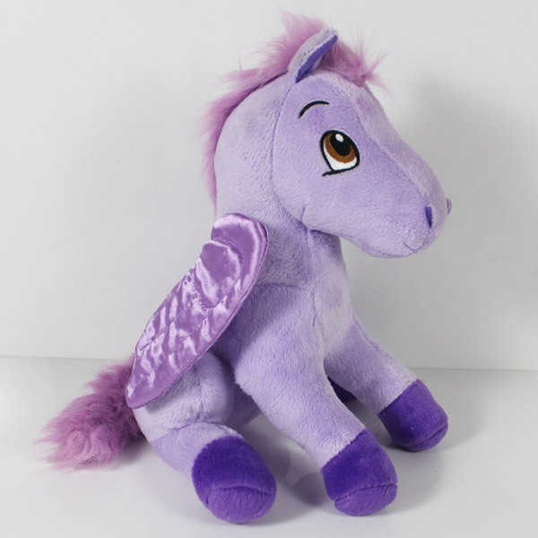 Cartoon Princess Sofia The First Cuddly Royal Friends Minimus Flying Horse for Pony Plush Stuffed Toys Dolls for Children 24cm(China (Mainland))