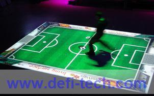 Low price Magic Interactive floor projection system for wedding, advertising,