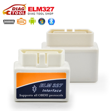 Lowest price Super MINI ELM327 v2.1 Bluetooth OBD2 Smart Car Diagnostic tool Interface ELM 327 Wireless Scan Tool(China (Mainland))