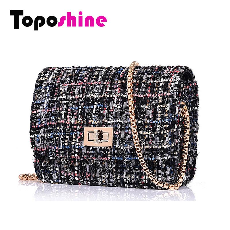 Toposhine Fashion Women Bags Mini Woolen Chain Cute Women Messenger Bags Casual Flap Girl Women Messenger Bags for Women C29-030(China (Mainland))