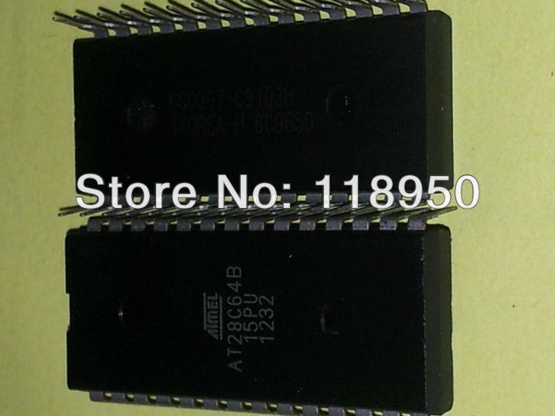 FREE SHIPPING-AT28C64B-15PU car computer program driver ic DIP-28 good quality(China (Mainland))