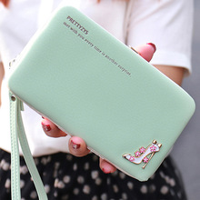 New High-end Fashion Frosted Women Wallets High-heeled Shoes Set Auger Lunchbox Phone Package Carry Long Women Purse Card Holder(China (Mainland))
