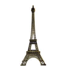 Bronze Tone Paris Eiffel Tower Figurine Imitation Statue Sculpture Souvenir 25 cm Free shippingFree Shipping(China (Mainland))
