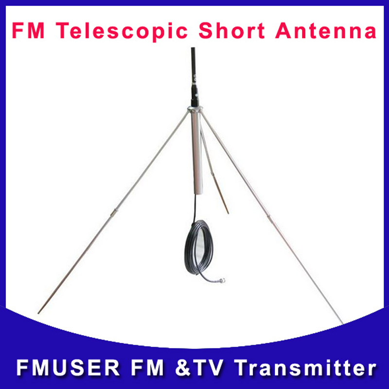 Cantonmade 2*PCS GP100 1/4 wave fm broadcast outdoor wireless antenna for FM radio and audio Transmitter(China (Mainland))