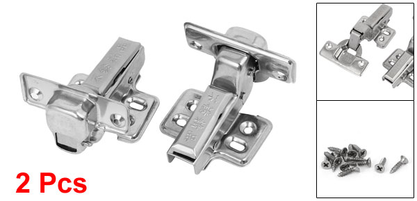 Furniture Hardware Buffer Stainless Steel Concealed Cabinet Hinge 2pcs(China (Mainland))