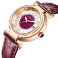 LANGGEYA Brand High Quality Luxury Rose Gold Women Dress Watches Geunine Leather Ladies Wristwatches Reloj Mujer