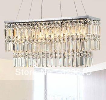 Modern Fashion K9 Crystal Pendant Light Living Room Light L700mm X W310mm X H250mm