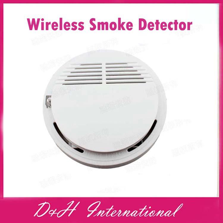 2014 New Arrive! Portable High Sensitive Stable Photoelectric Wireless Smoke Detector Fire Alarm Sensor - D&H International Co., Ltd. store