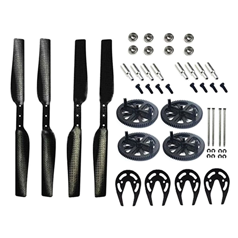 Carbon Fiber Propeller & Gears Protector & Drive Bearings & Main Shafts High Quality(China (Mainland))