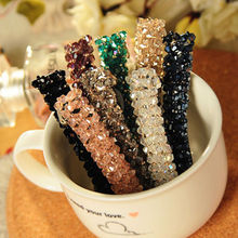 1 PCS Ladies Women Girls Bling Headwear Crystal Rhinestone Hair Clips Barrette Hairpin Hair Accessories(China (Mainland))