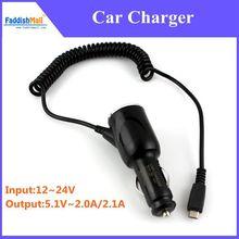 New 5 V 2A/2.1A Dual 2 Port  Universal Mini USB Car Charger  Adapter For phone Socket Dual USB Jack Black ,Free Shipping!(China (Mainland))