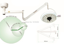 High Quality Medical Light 108W Ceiling LED Surgical Medical Exam Light Shadowless Operation Lamp Cold Light CE/FDA(China (Mainland))