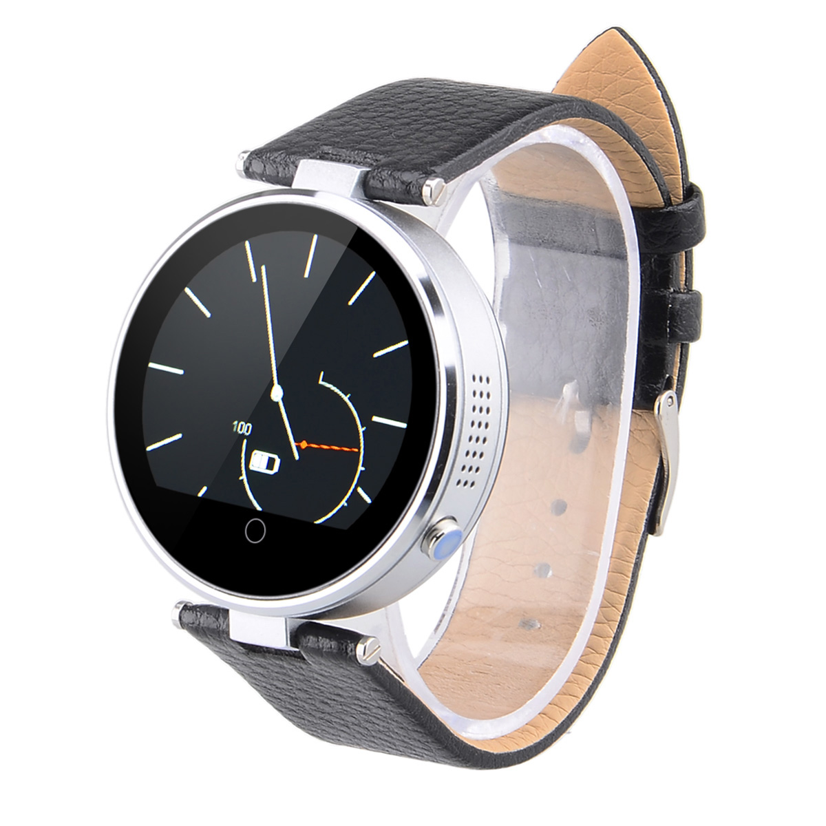 Original ZGPAX S365 Bluetooth Round Smart watch with Pedometer for ISO iPhone Android Phone Wearable Devices Clock Smartwatch