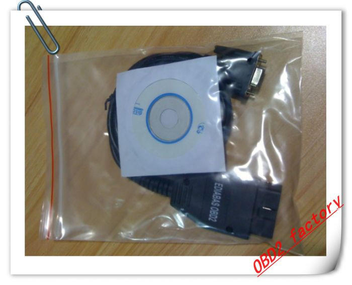 Free shipping B.M INPA Ediabas OBDII Interface for Ediabas / INPA Software Connects to RS232(China (Mainland))