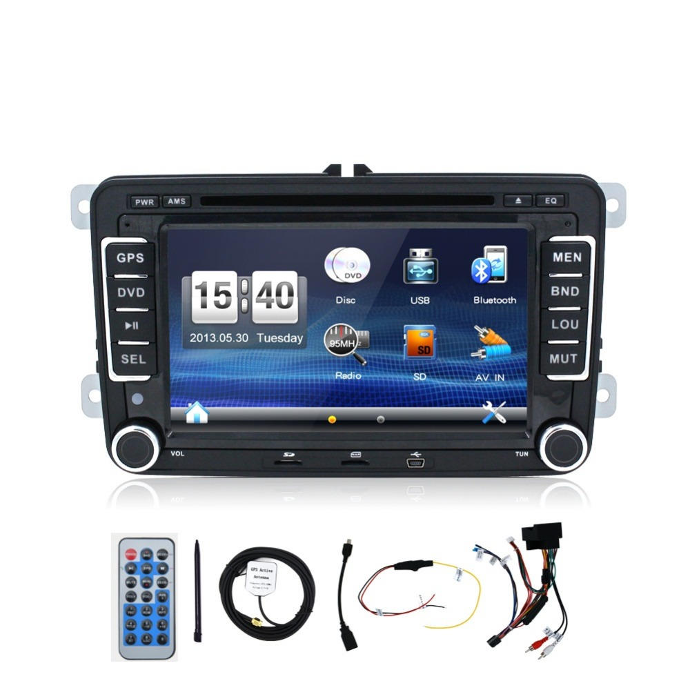 New! 2 din car dvd player For VW T5/GOLF V/POLO/PASSAT Variant/SAGITAR/EOS with GPS,tv(option) HD Digital,camera,video,radio,usb(China (Mainland))