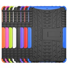 ShockProof Case For Ipad mini 1 2 3 PC Rubber Multifunction Stand Cover Case for Ipad Tablet 7.9inch Free Shipping