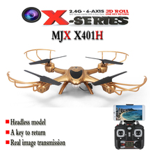 MJX X401H 2.4G RC Aircraft 6-axis With FPV 720P HD Camera Altitude Hold Mode Headless RC Quadcopter RTF Phone WiFi APP control(China (Mainland))