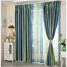 2016 New Curtains For Living Dining room Bedroom European Style Finished Curtain Modern Window Thickening balcony Gradients(China (Mainland))