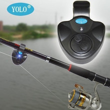 Hot! Universal Fishing Alarm Set Wireless Electronic Fish Bite Alarms Finder LED Sound Alert Tackle Boxes ( Without Battery )