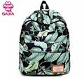 GAJIA Hot Selling School Bags For Teenagers Girls Printing Backpack Waterproof Canvas Women Backpack Book Bag