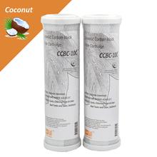 Скорлупы кокосового ореха активированного угля блок фильтр картридж технический директор картридж фильтр для воды 2 шт.