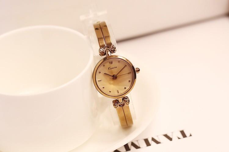 New Fashion Kimio luxury Women's quartz Dress watches bracelet watch waterproof stainless steel ladies wristwatches with box
