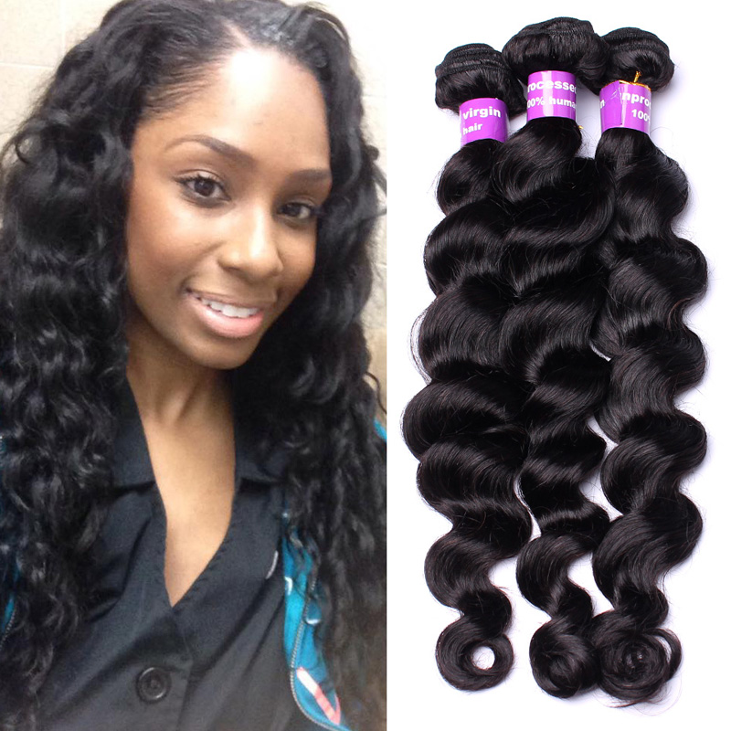 6a Grade Filipino Virgin Hair Loose Wave 3pcs Lot