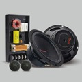 LABO 6 5inch glassfiber component car audio speaker sets with high Max power output 180W car