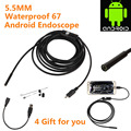 Hot Sale USB Tube Camera 5 5mm Lens 720P HD 1M Waterproof Endoscope Borescope Snake Inspection