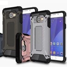 Buy Heavy duty dual layer armor case samsung galaxy A3 A5 A7 2016 A310 A510 A710 A9 C5 C7 shockproof 2 1 hard PC TPU cover for $2.96 in AliExpress store